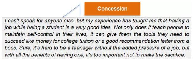 Paragraph 5:Conclusion(结论)
