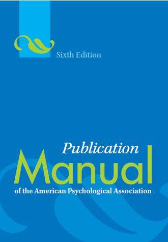 APA文献引用格式