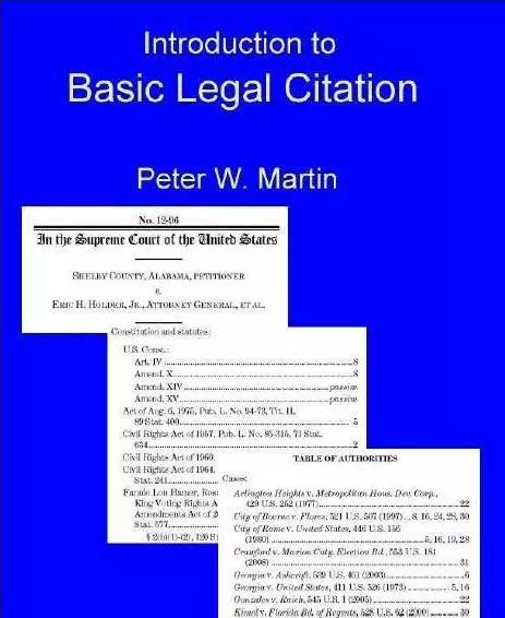 Martin文献引用格式