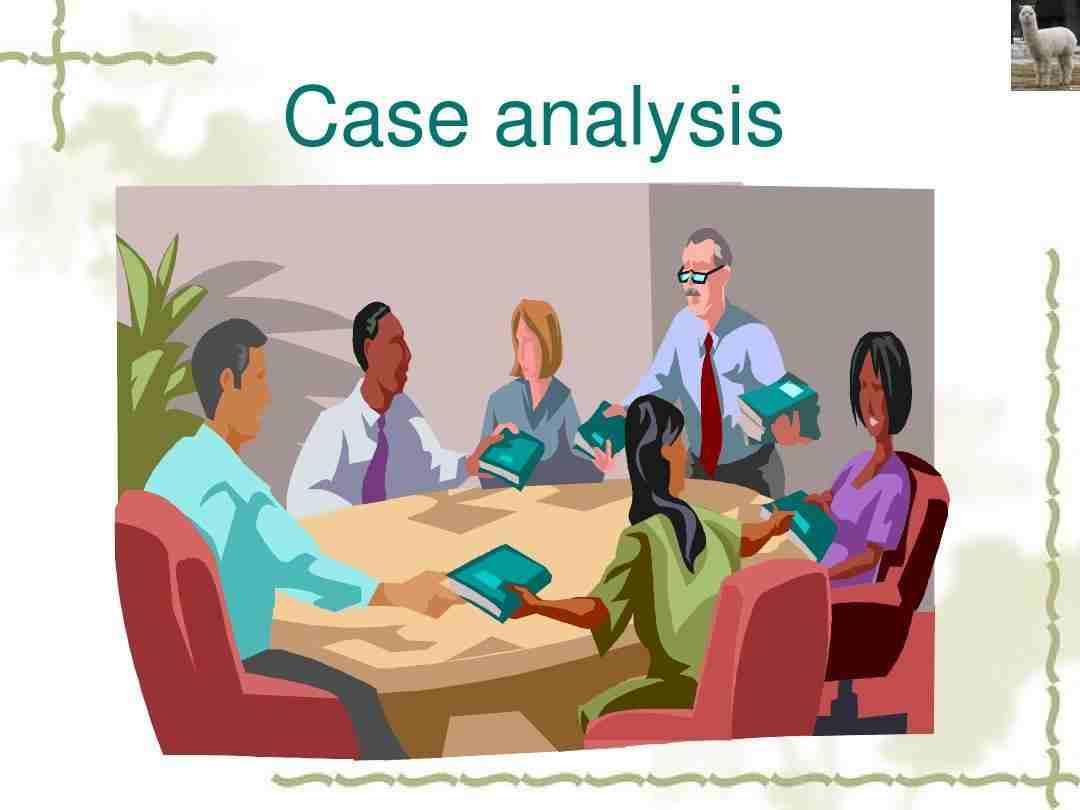 Case Analysis写作方法