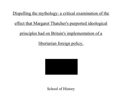 历史proposal举例