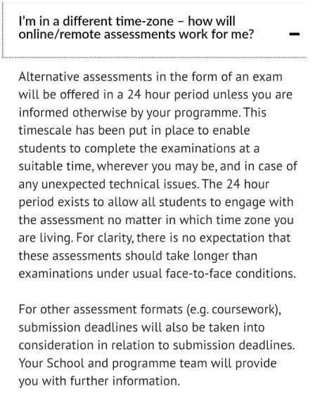 Cass的考试形式通知