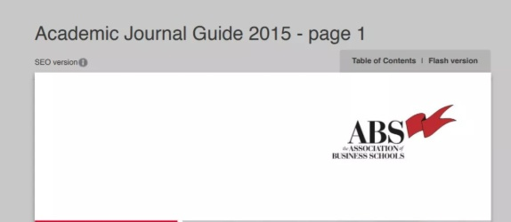 Academic Journal Guide