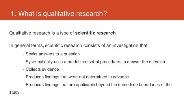 定性研究(Qualitative Research)