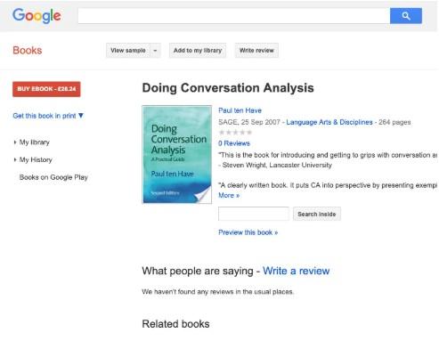 Google Books页面