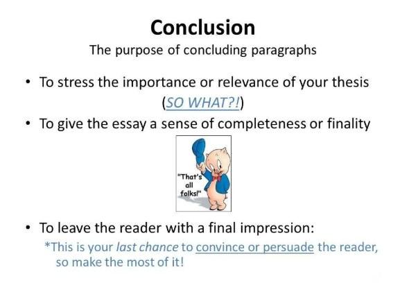 conclusion写作技巧