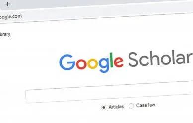 google scholar截图