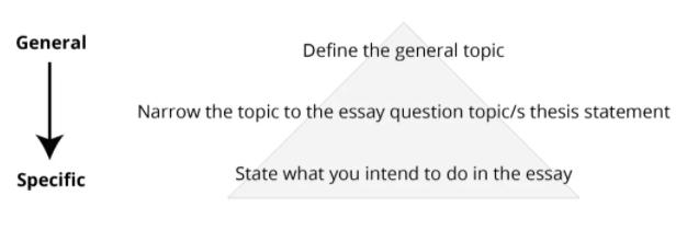 Essay写作逻辑图