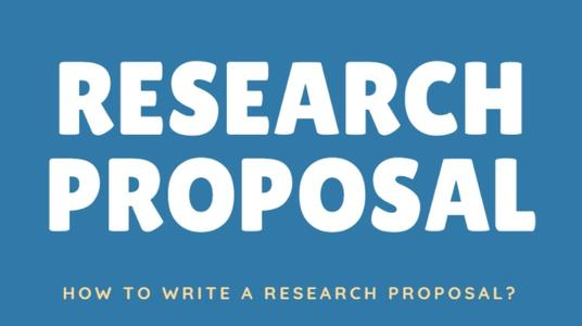 Research Proposal结构