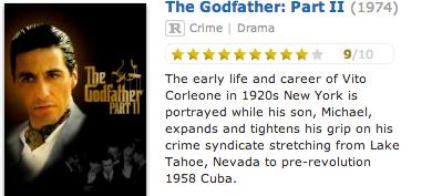 《教父II》在IMDb的电影描述