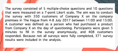 定量分析例子:
