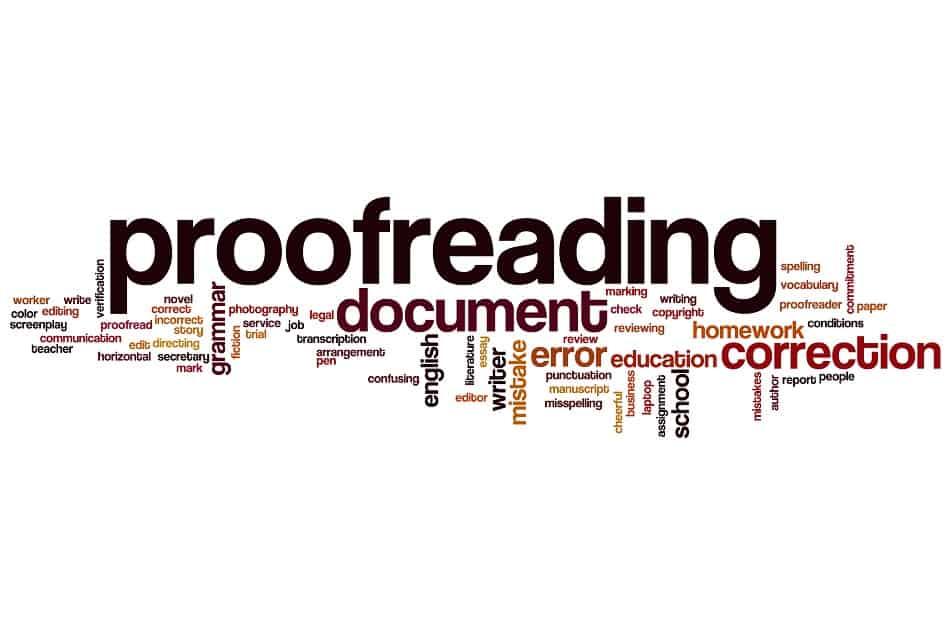 为什么我们需要Proofreading?