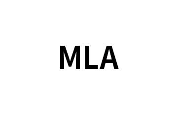 MLA格式