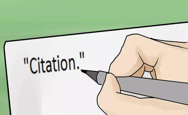 Citation引用格式