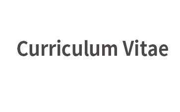 Curriculum Vitae简历