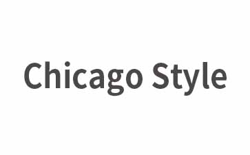 芝加哥(Chicago)格式