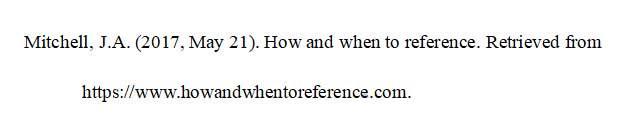 APA格式引用网页文献示例