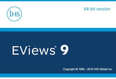 Eviews界面