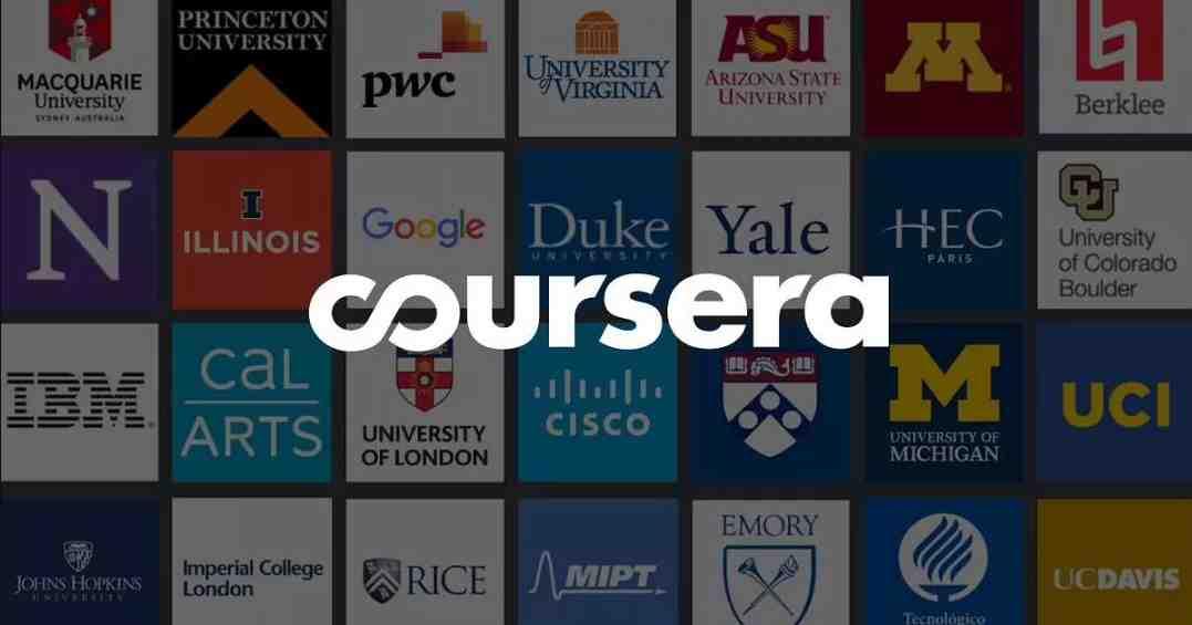 Coursera界面