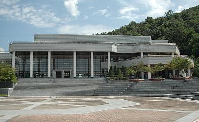 韩国清州大学校园一角