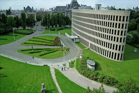 布鲁塞尔自由大学校貌