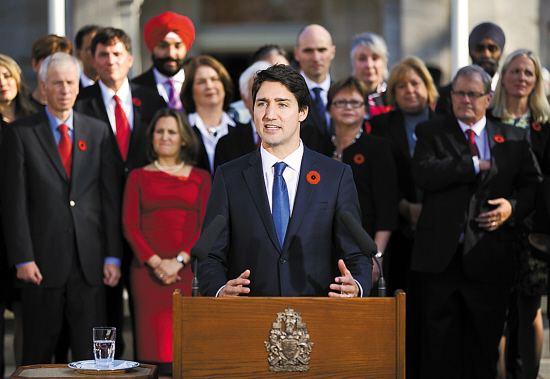 加拿大总理特鲁多