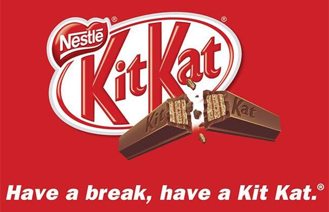 Kitkat广告海报