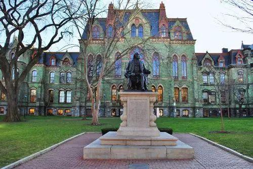 宾夕法尼亚大学校园一角